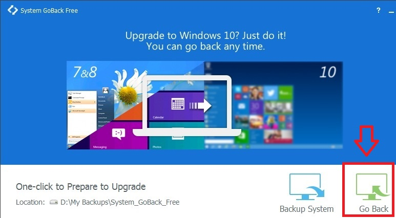 EaseUS System GoBack Free